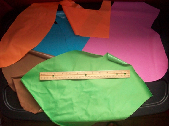 1 and 2 mil PUL Scraps  (approx. 1.5-2 yards)- Priority Mail Flat Rate Envelope