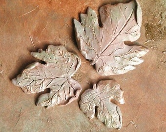 Spring Leaves Plaster Mold Clay Mold Push Mold