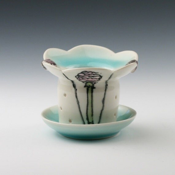 Custom Porcelain Tea Strainer for Maggie