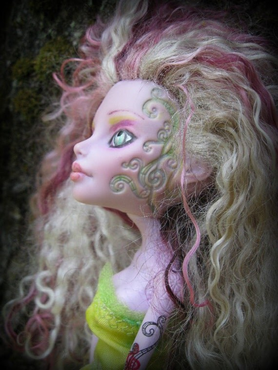 Monster High OOAK Art Doll - Venus Mantrap
