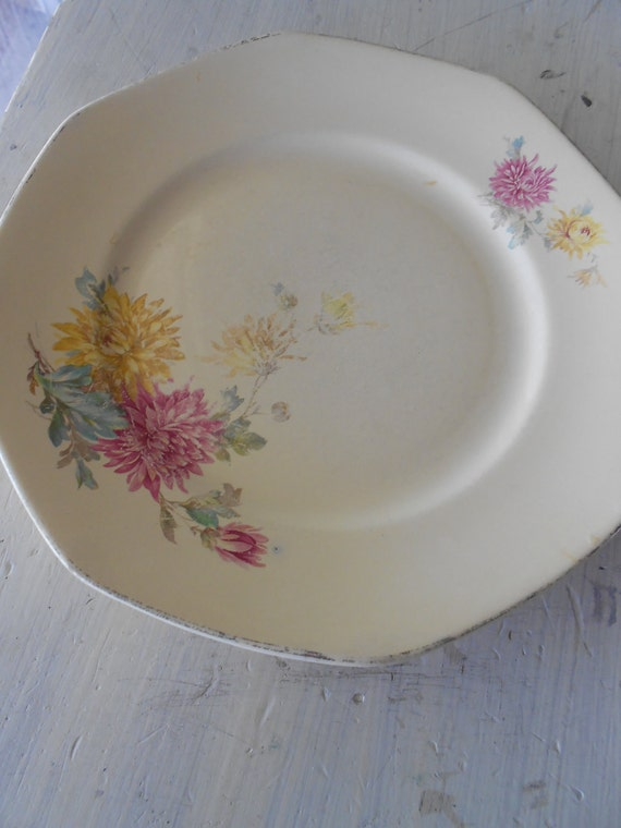 1932 Homer Laughlin Salad/Dessert Plate