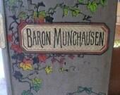 Old Beautiful Book  - Baron Munchausen- 1923
