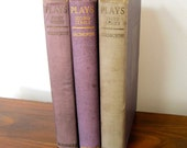 John Galsworthy  Nine Plays 1st 2nd 3rd Series  1916 1918 1920 Nobel Prize in LIterature