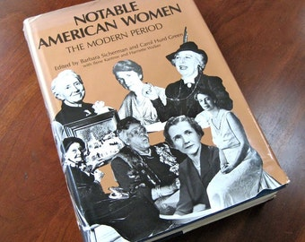 Notable American Women  Biographies 1980 Reference book  442 women eds. Sicherman & Green