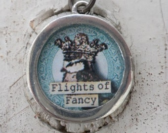 Indulge in Flights of Fancy Photo Charm