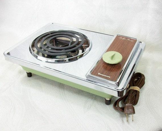 Buffet Range Vintage Portable Electric By Peachychicboutique
