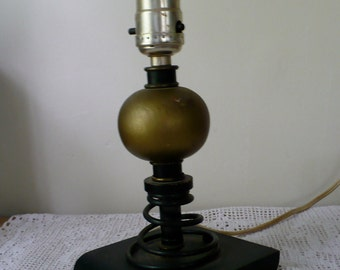 Old Shop Class Handmade Lamp