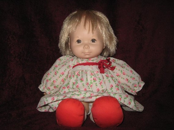 Fisher Price Baby Ann Doll 1973 Vintage
