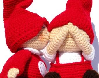 PDF Amigurumi Pattern - Gnome Love