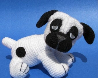 Billy the Pug - Amigurumi crochet pattern