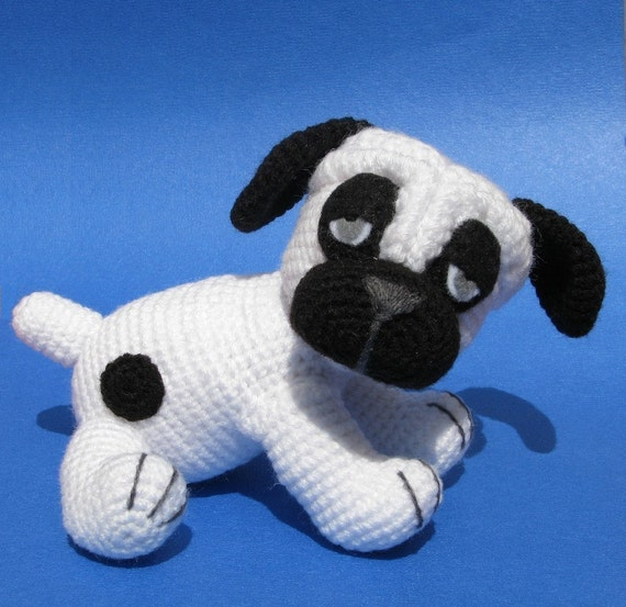 Amigurumi Free Patterns Dog : Billy the Pug Amigurumi crochet pattern