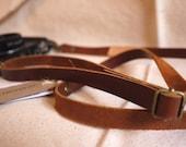 Handmade Adjustable Leather Camera Strap