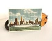 Vintage Svenska Amerika Linien Post Card Ship Nautical Ocean by LeeLeesCloset on Etsy