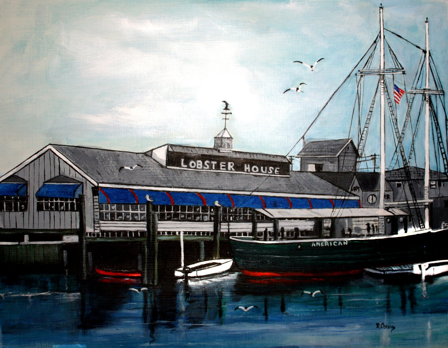 Lobster House SIGNED PRINTS 8 X 10 15.00 11 x 14 25.00