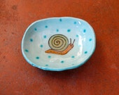 Small Snail Dish with Feet - by  Marcia Hovland