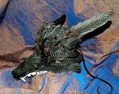 Wolfman Werewolf Lycan Mask Adult Size Halloween Day of the Dead Mardi Gras