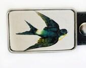 Sparrow Swallow Belt Buckle for Women or Men