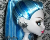 Metal Snowflakes Monster High Barbie Doll Earrings