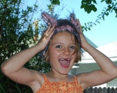 Fuzzy Muzzy Monster Ears Children Dress Accessory