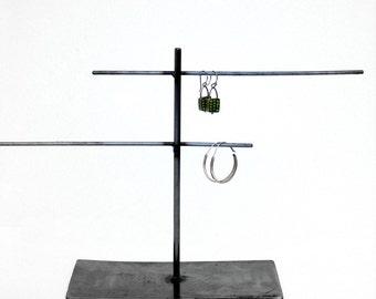 Jewelry Display Stand Metal Natural Steel - OFF SET Mini Ladder