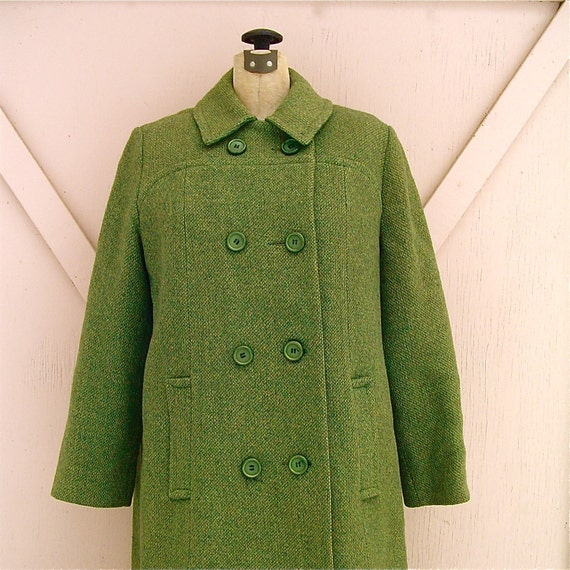 Women's Long Notched Lapel Open Front Wool Blended Pea Coat With Pocket, Deep Green S. More Choices from $ 80 Zeagoo. Womens Notched Lapel Long Sleeve Wool Blended A Line Outwear Coat With Pockets. from $ 34 out of 5 stars 4. FASHION BOOMY. Womens Zip Up Military Anorak Jacket W/Hood.