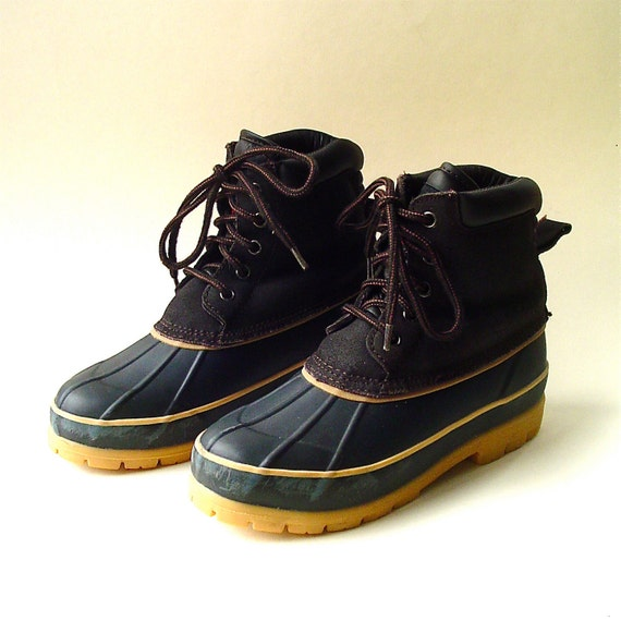 vintage northside insulated duck boots