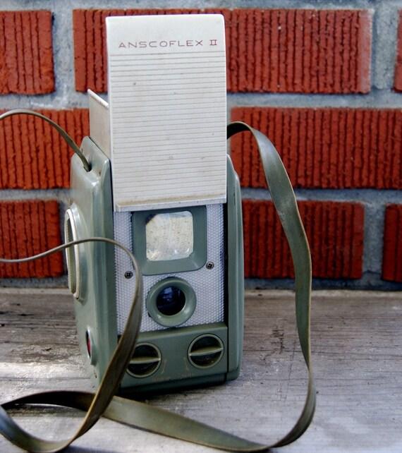 Vintage ANSCOFLES II Film Camera 1954