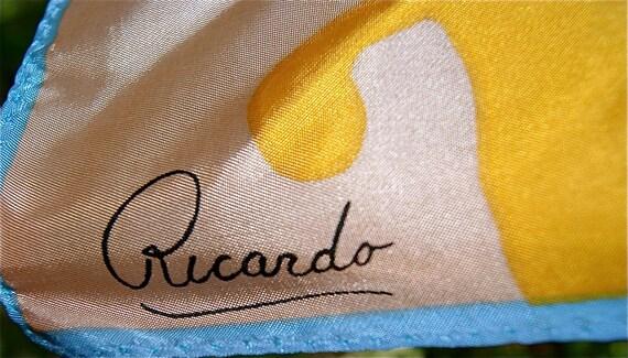Retro Ricardo Scarf