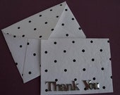 Thank you notes set of 6