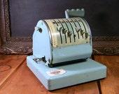 Vintage Industrial Paymaster Check-writer