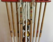 Reserved Order Vintage Croquet Set with Stand, Summer Games