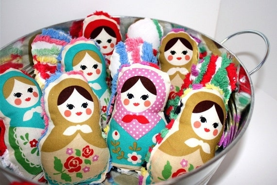 Plush Russian Doll Toy - Choose your Sweetest Matryoshka Doll