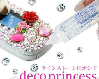 Deco Princess super clear glue bond for rhinestones