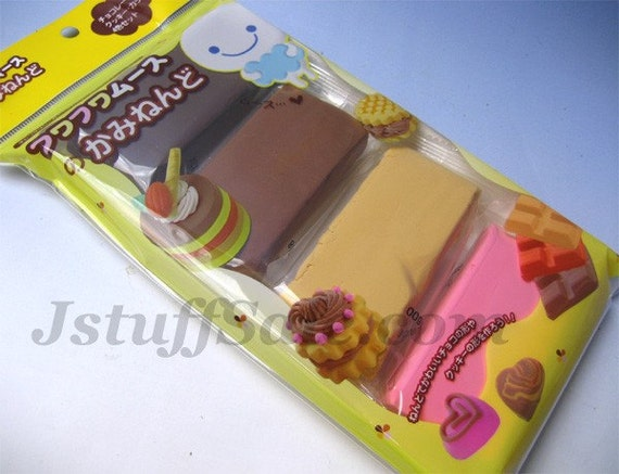Fuwa Fuwa mousse light weight air dry clay (Chocolate color)