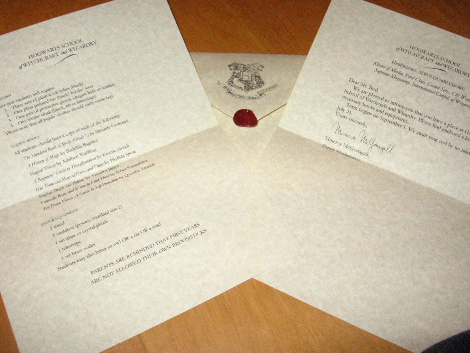 hogwarts acceptance letter hogwarts acceptance letter customizable harry by 22127 | il fullxfull.113780859