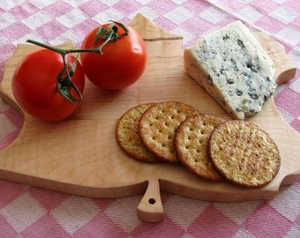Cheese Board--Tiger Maple