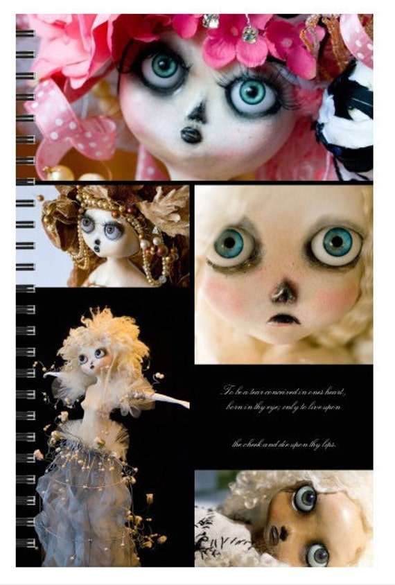 ART DOLL Journal  or note book blank pages