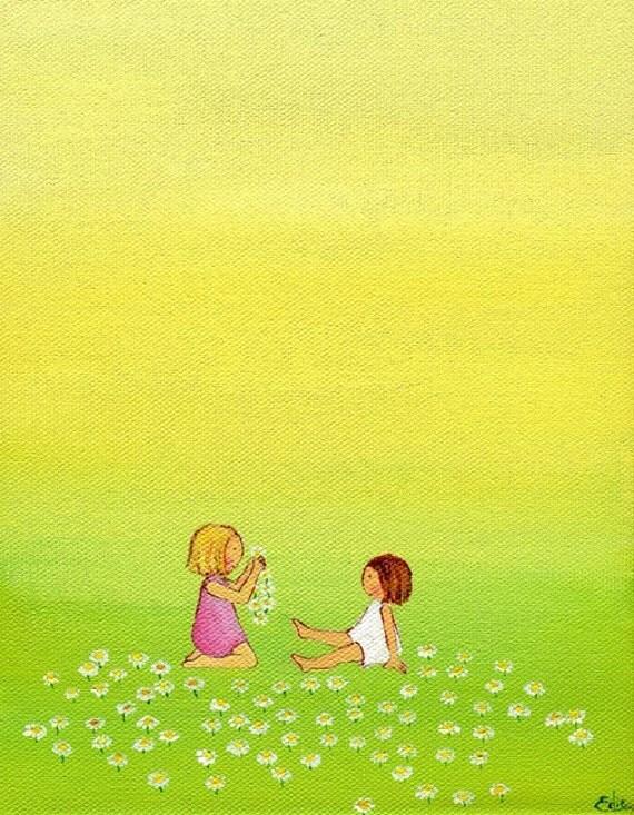 Print of Daisy Chain