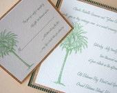 The Tropic-Palm InVitation