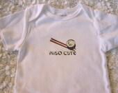 Miso Cute Baby Bodysuit (sizes newborn to 24 months)