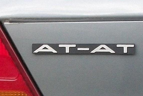AT-AT Custom Car Emblem