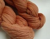 Merino Organic Lace Yarn Naturally Dyed Handdyed Brown