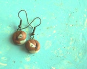 Foxy Earrings by Raquel PinLady Sculpted Clay fox dangles