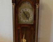 SALE - Vintage Antique Mini Electronic Grandfather Clock
