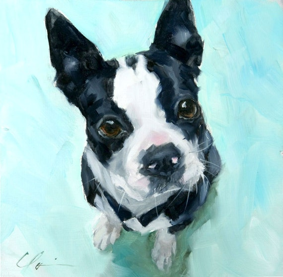 Dog Canvases Black And White