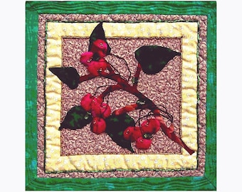 Cherry Jubilee - An Art Quilt