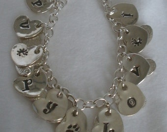 Puppy Love, Too,  Bracelet - Silver