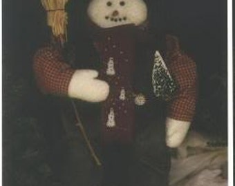 Flakey Snowman Doll Pattern