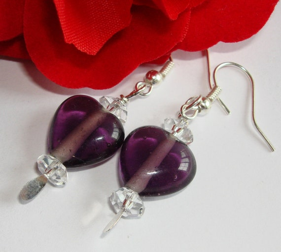 PIF Jewel Heart Earrings