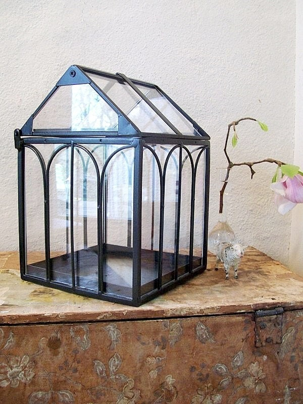 Indoor greenhouse a large terrarium house for plants for How to make a small indoor greenhouse